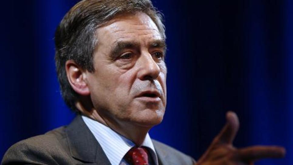 Le députée UMP François Fillon, le 14 novembre 2014 à Menton