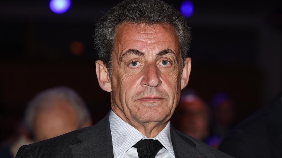 L'ex président Nicolas Sarkozy le 20 avril 2018