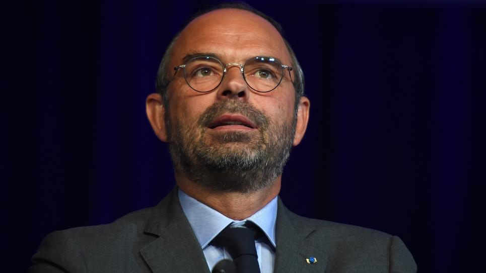 Le Premier ministre Édouard Philippe, lors du séminaire des parlementaires LREM, à Tours, le 11 septembre 2018