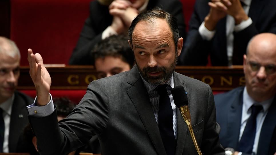 Le Premier ministre Edouard Philippe à l'Assemblée nationale le 18 décembre 2018