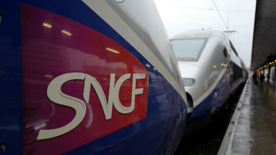 Des TGV en gare de Lyon, le 15 février 2018 à Paris