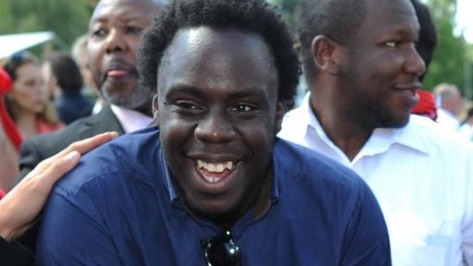 L'ancien président des Jeunes populaires, Stéphane Tiki, à Port-Marly le 31 août 2010