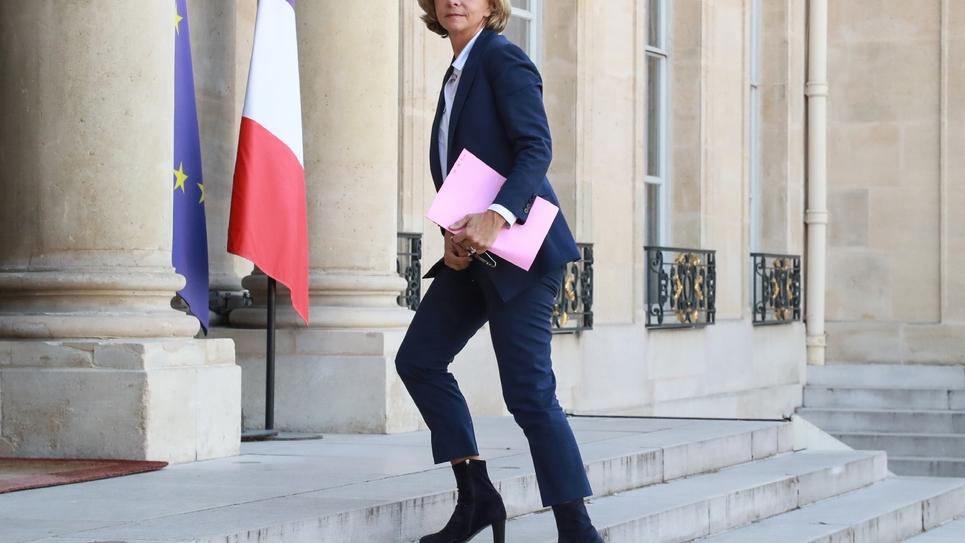 La présidente de la région Ile-de-France Valérie Pécresse, le 17 avril 2019 à l'Elysée, à Paris