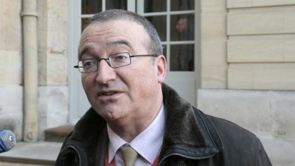 Le député UMP Hervé Mariton, le 31 janvier 2014 à Paris