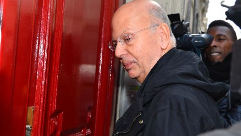 L'ancien journaliste de Minute et de Valeurs Actuelles, Patrick Buisson, le 15 octobre 2012 à Paris