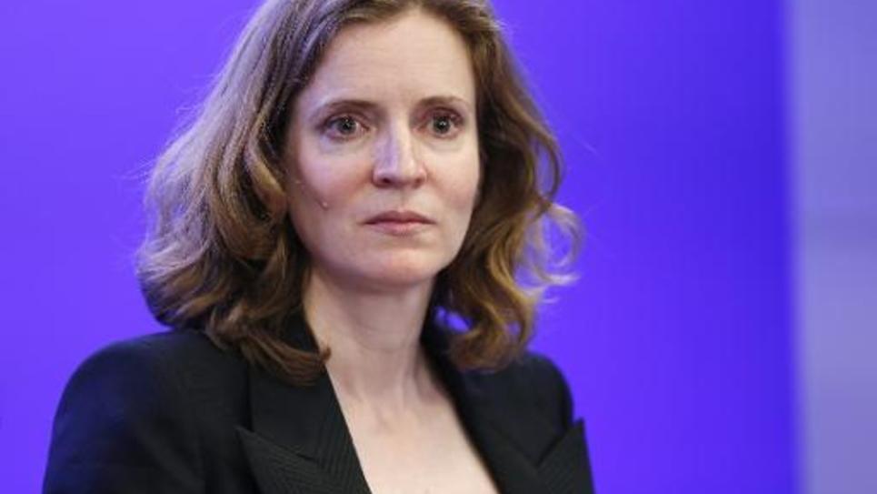 Nathalie Kosciusko-Morizet, lors d'une conférence de presse à Paris le 5 mai 2015