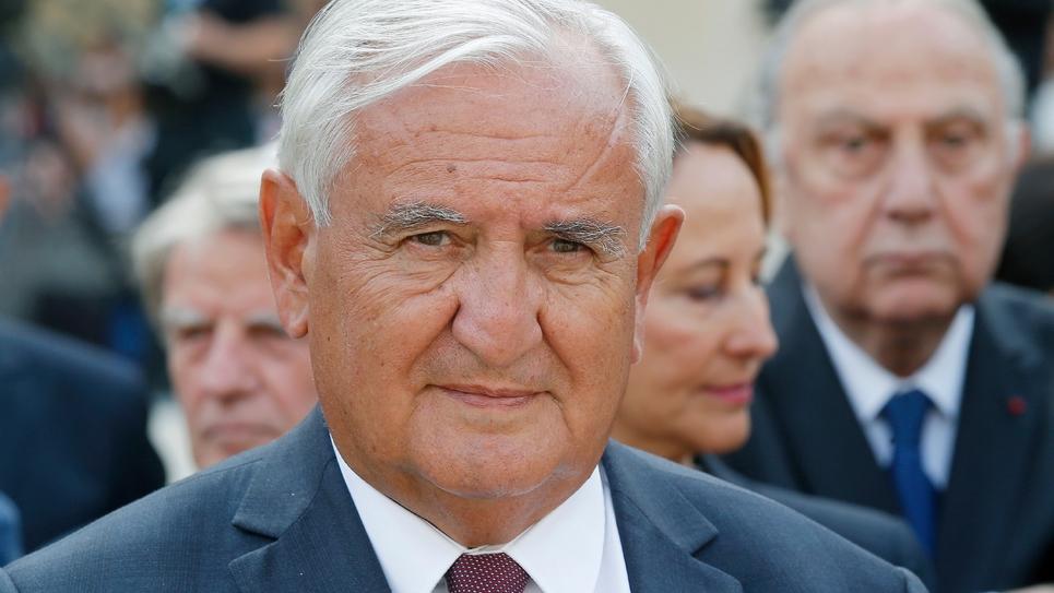 L'ancien Premier ministre Jean-Pierre Raffarin, aux Invalides à paris, le 5 juillet 2017