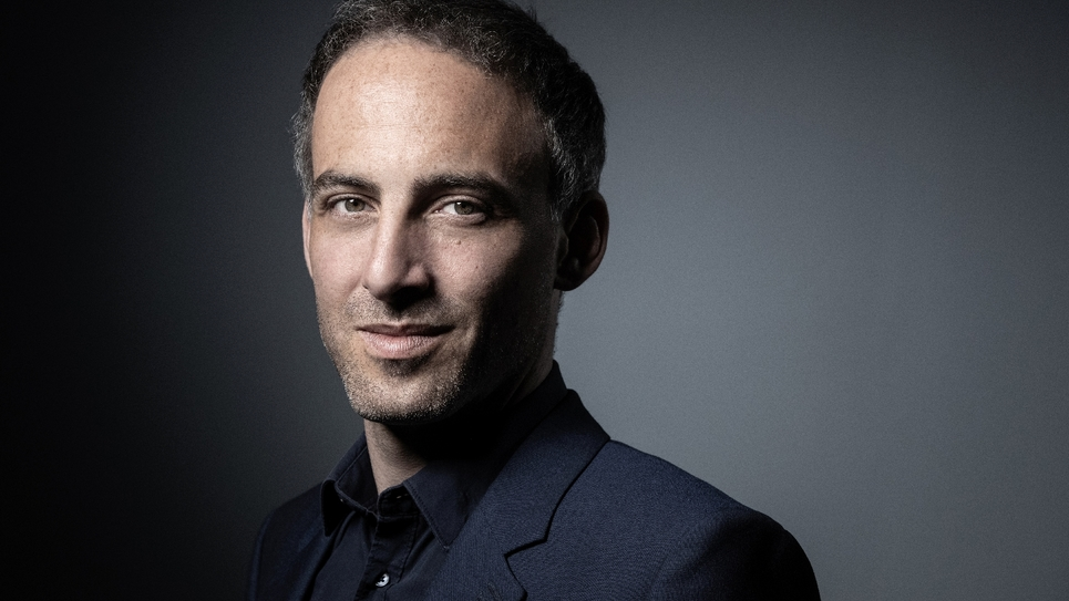 Raphaël Glucksmann, à la la tête d'une liste PS - Place publique pour les élections européennes. Photo prise à Paris le 23 avril 2019.