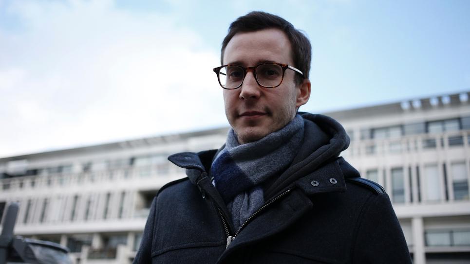 L'avocat et porte-parole des Gilets Jaunes François Boulo le 17 janvier 2019 à Rouen