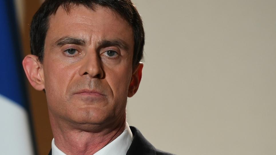 Manuel Valls, le 29 janvier 2017