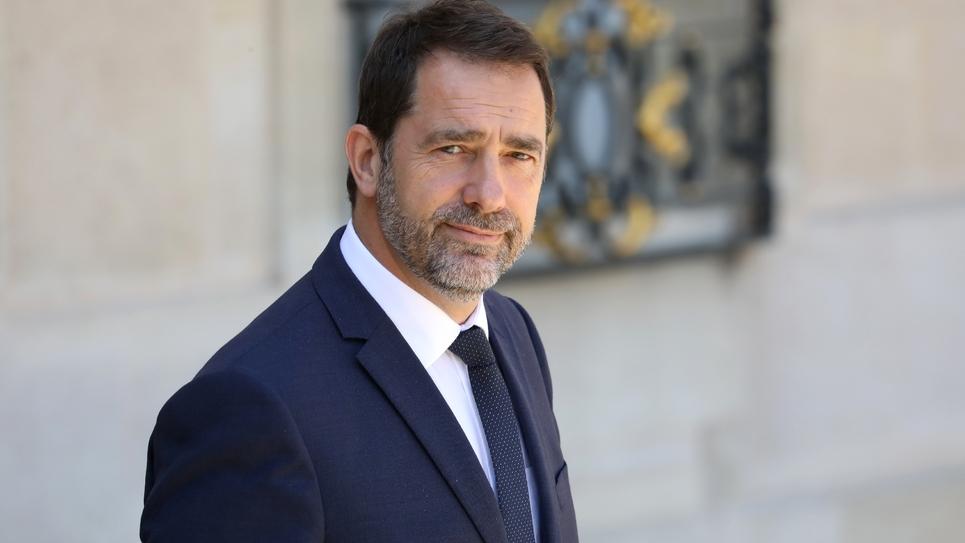 Christophe Castaner à l'Elysée, le 3 jullet 2019