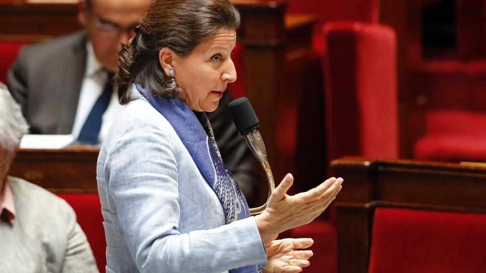 La ministre de la Santé Agnès Buzyn, à l'Assemblée à Paris, le 29 mai 2019