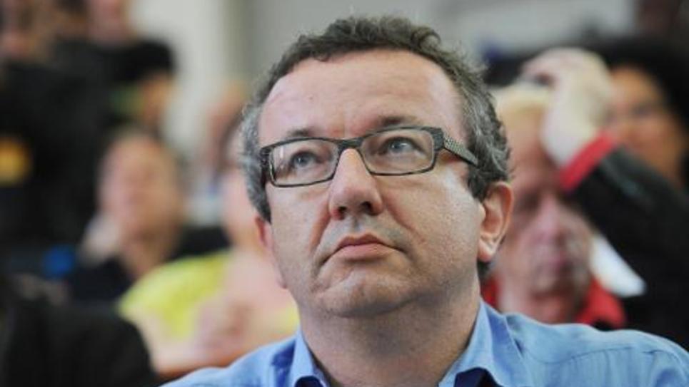 """Christian Paul, un député PS """"frondeur"""", le 30 août 2014 à La Rochelle"""
