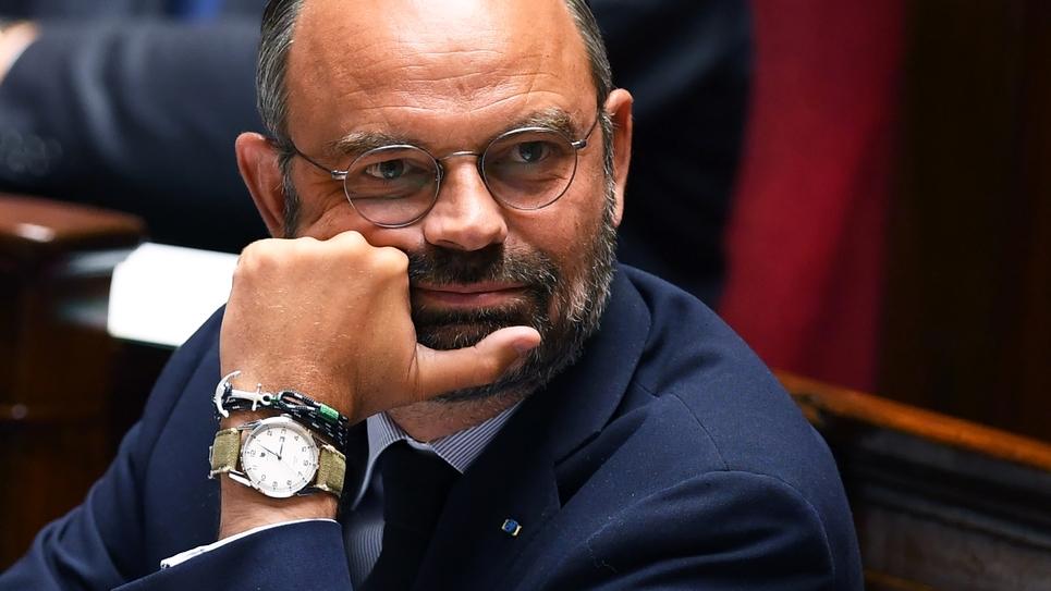 Le Premier ministre Edouard Philippe à l'Assemblée nationale le 10 septembre 2019