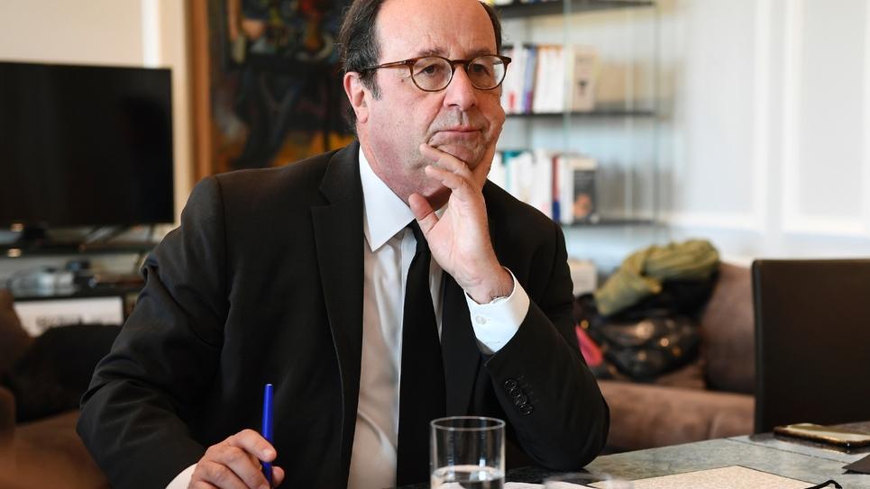 François Hollande le 7 mai 2019 à Paris
