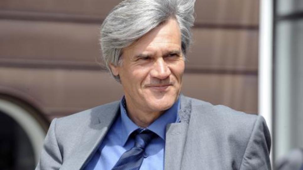 Le ministre de l'Agriculture Stéphane Le Foll le 1er juin 2015 à Morlaix