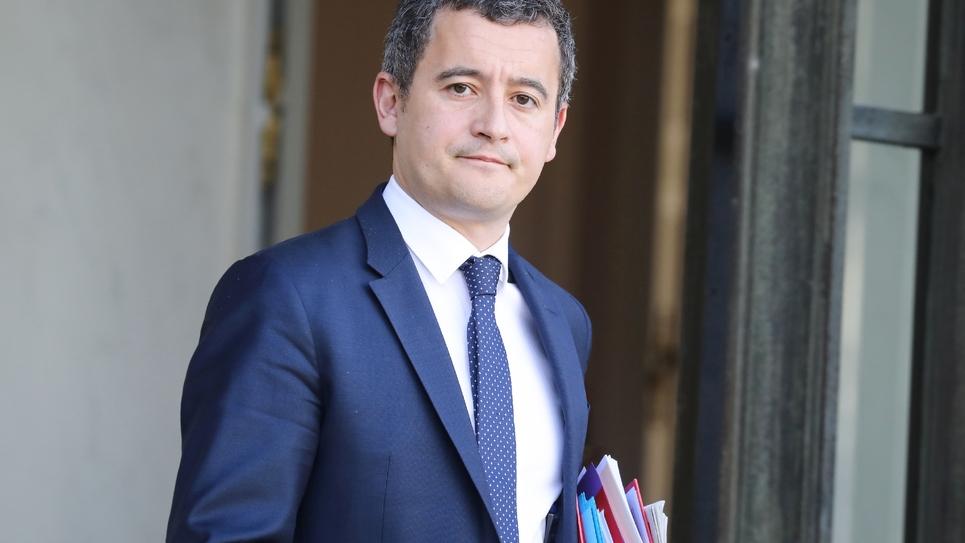 Gérald Darmanin, le 30 janvier 2019 à l'Elysée, à Paris