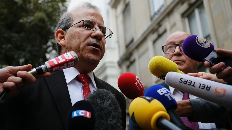 Le président du CFCM Mohammed Moussaoui le 29 août 2016 à Paris