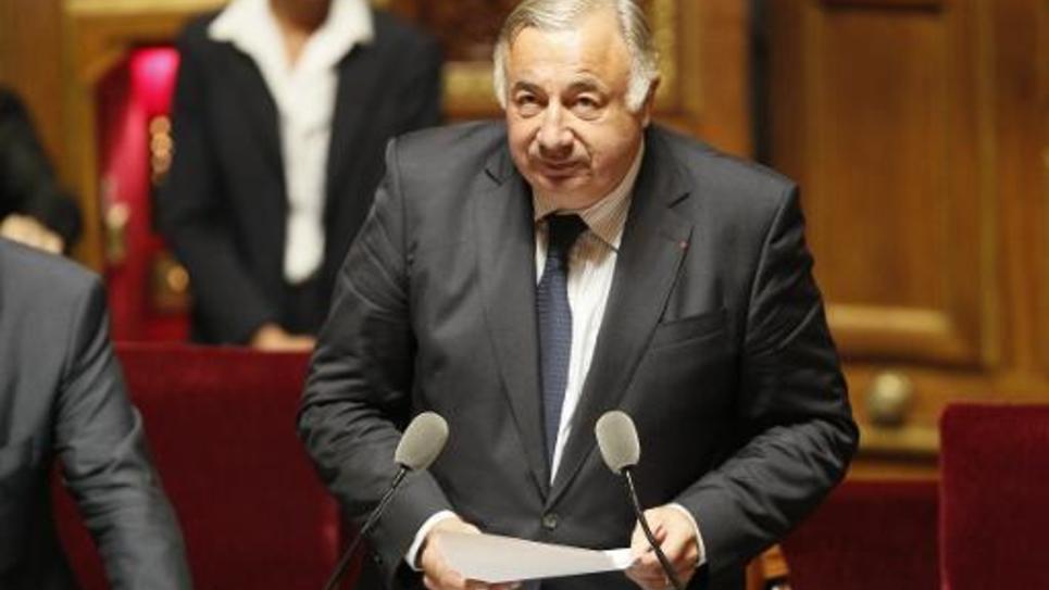 Le président du Sénat Gérard Larcher le 1er octobre 2014 à Paris