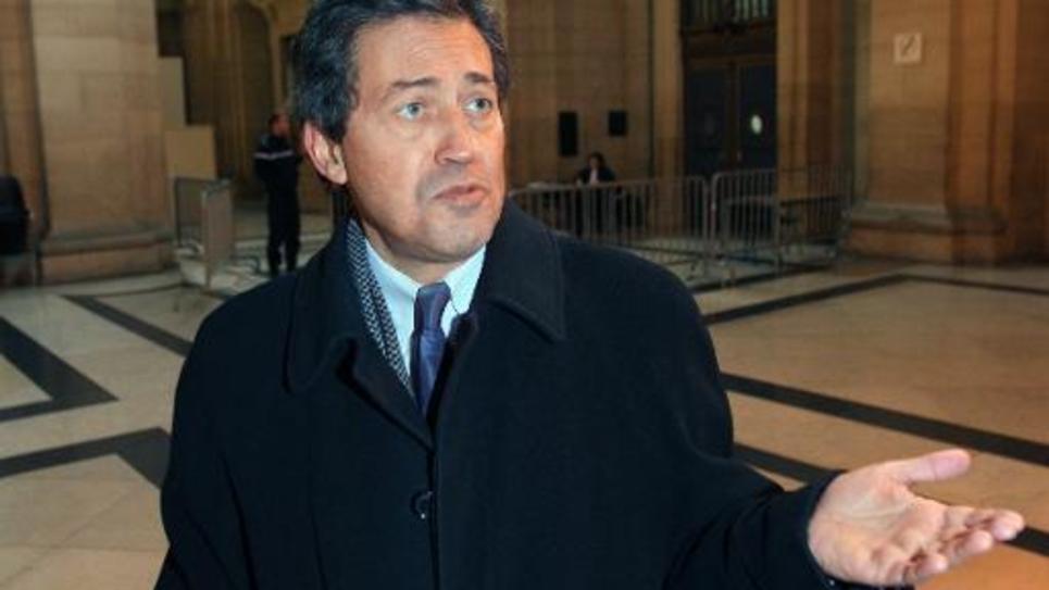 Le député UMP et ancien juge d'instruction Georges Fenech, au Palais de Justice de Paris, le 8 décembre 2008