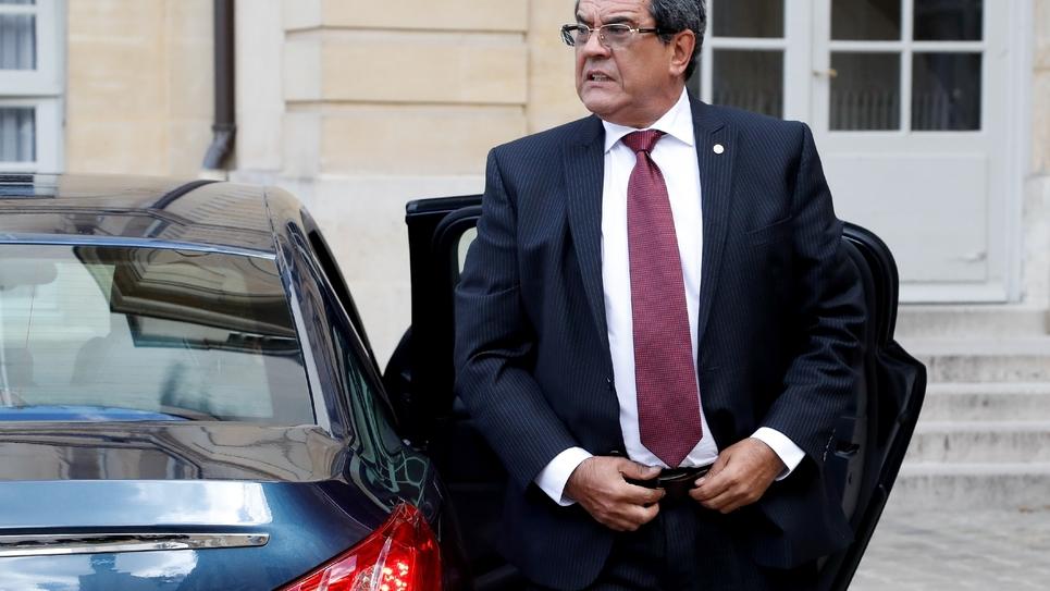 Le président de la Polynesie, Edouard Fritch, à Paris 15 juin 2018
