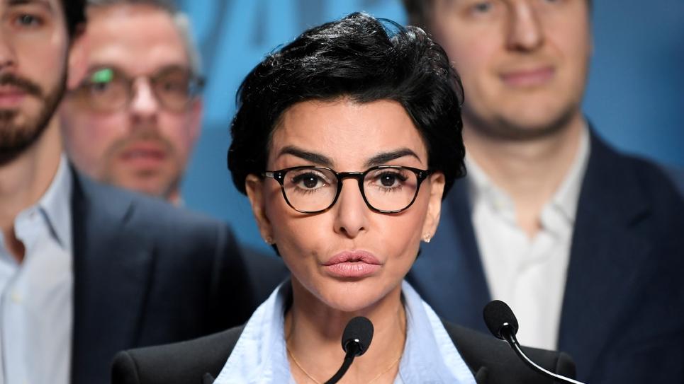 Rachida Dati, candidate LR aux municipales à Paris, présente son programme le 24 février 2020 à Paris