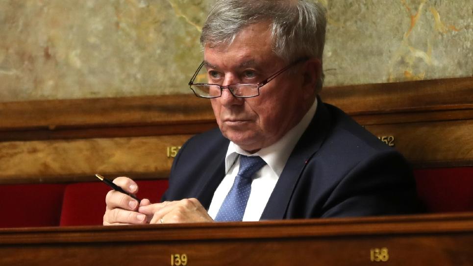 Guy Bricout (UDI-Agir) à l'Assemblée nationale le 24 janvier 2018