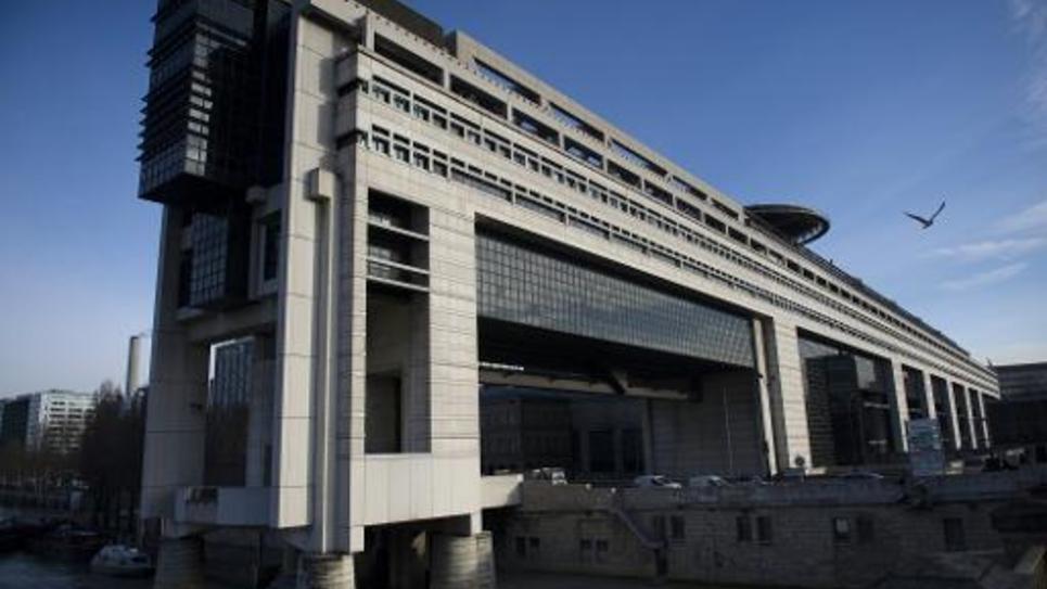 Le ministère de l'Economie et des Finances à Paris