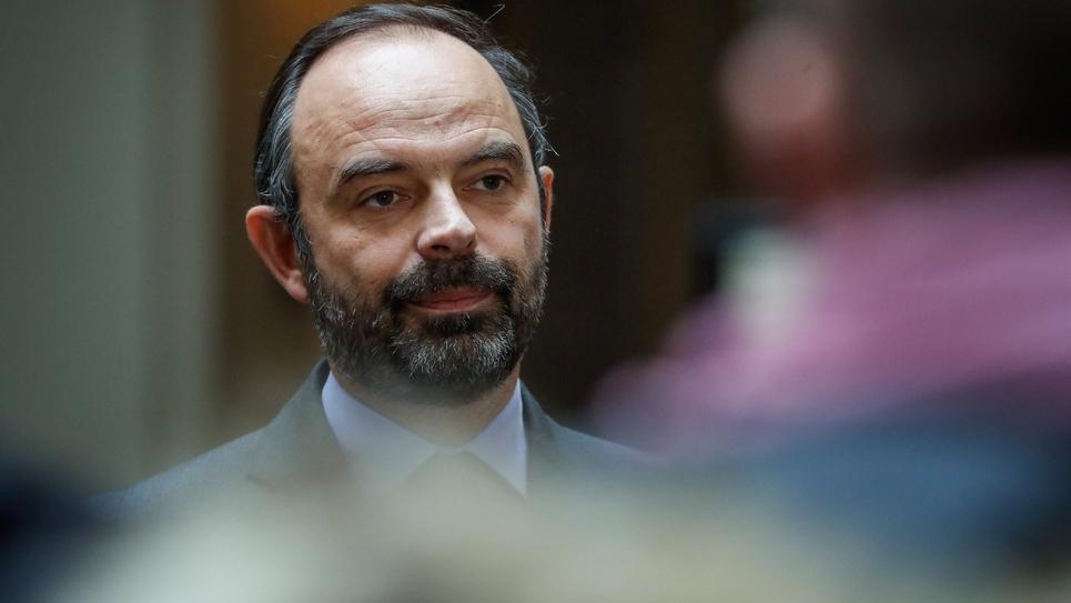 Edouard Philippe à Paris, le 24 décembre 2018