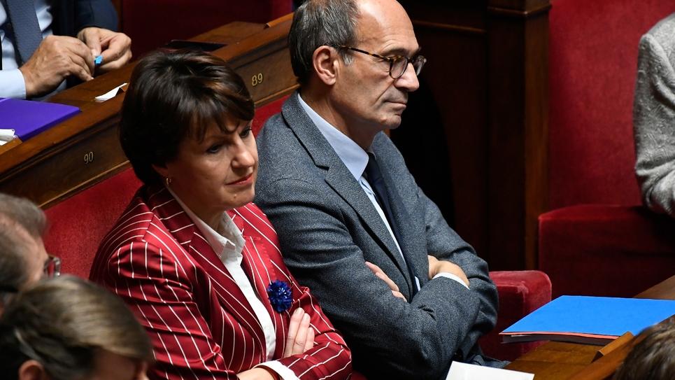 Annie Genevard à l'Assemblée nationale le 6 novembre 2018