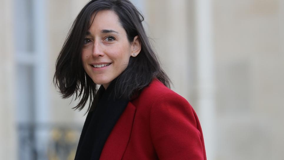La secrétaire d'Etat à la Transition écologique Brune Poirson, le 15 janvier 2020 à Paris