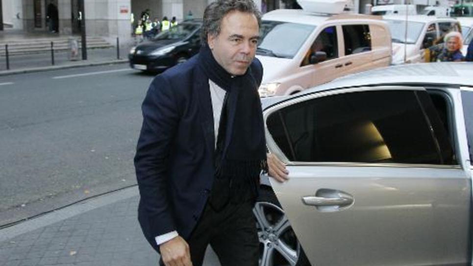 L'ancien ministre et dirigeant de l'UMP Luc Chatel, le 2 décembre 2014 au siège de l'UMP à Paris