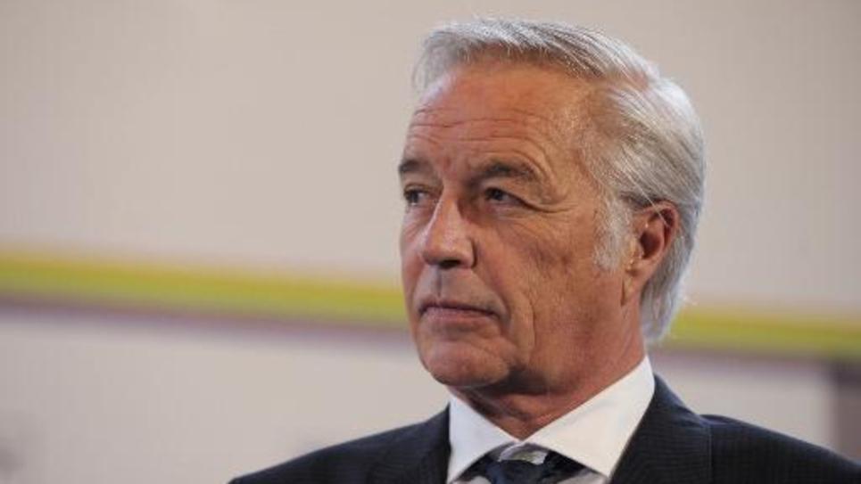 Le ministre du Travail Francois Rebsamen à Paris, le 28 octobre 2014