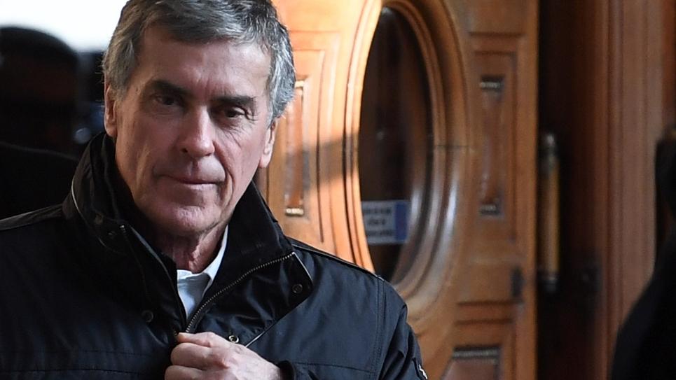 L'ancien ministre du Budget, Jérôme Cahuzac, le 21 février 2018, lors de son dernier jour du procès en appel au Palais de Justice de Paris