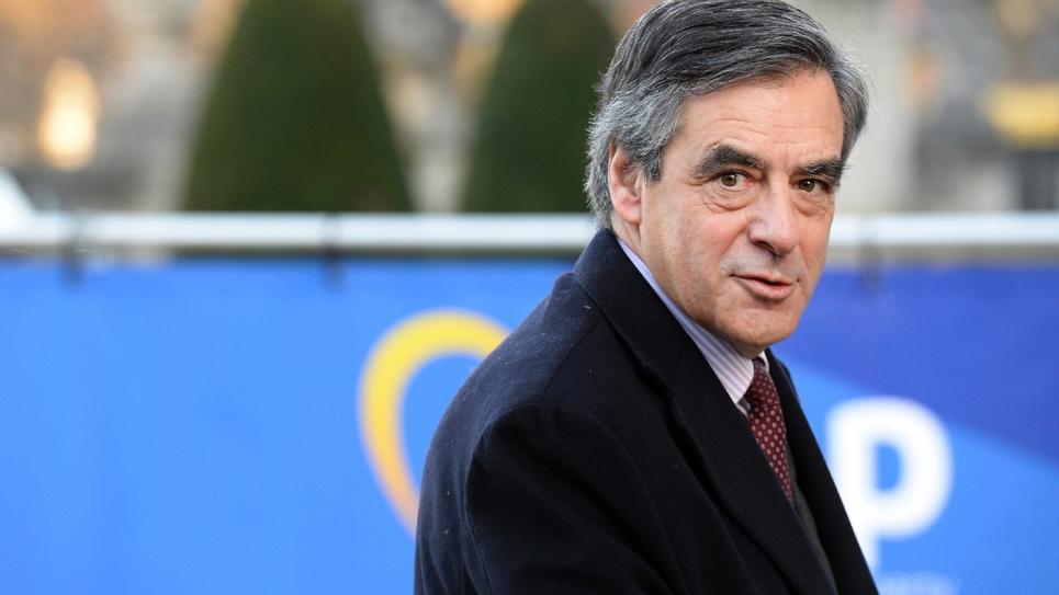 François Fillon à une réunion des partis de centre-droit européens, le 15 décembre 2016 à Bruxelles