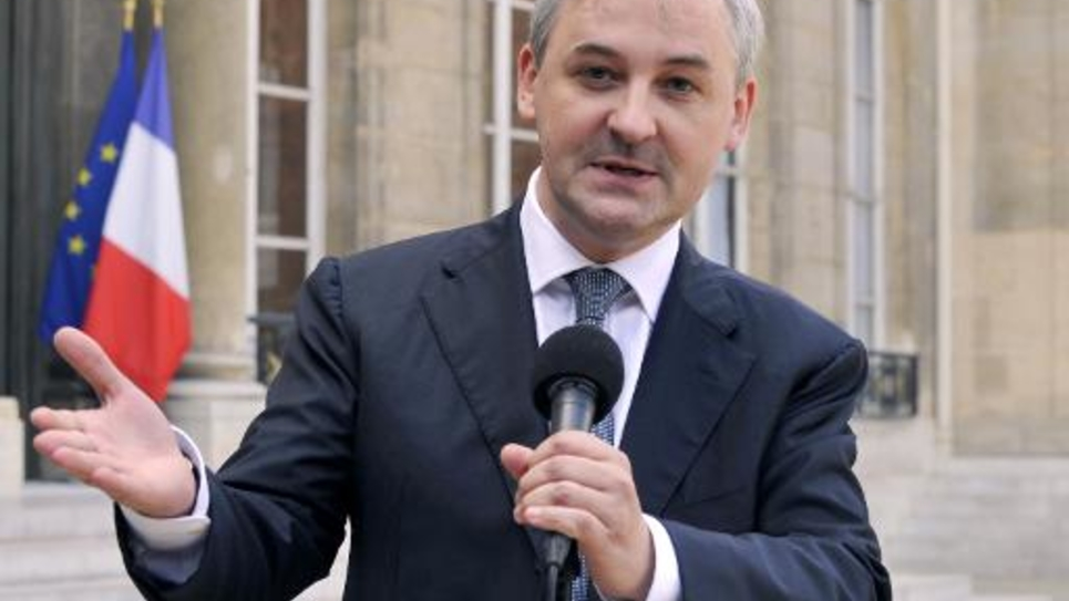 François Pérol, le président de BPCE, le 1er octobre 2009 à Paris