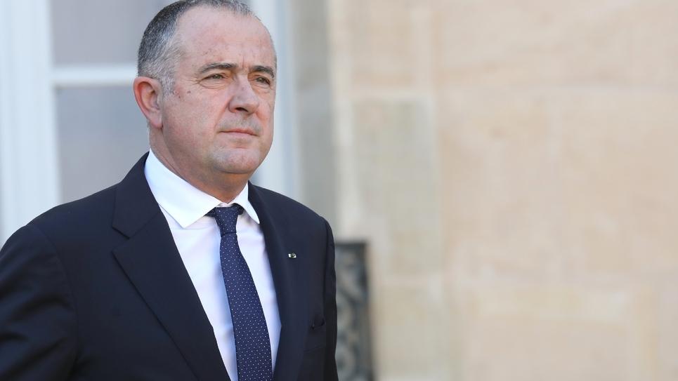 Didier Guillaume, ministre français de l'Agriculture, le 14 novembre 2018 à Paris