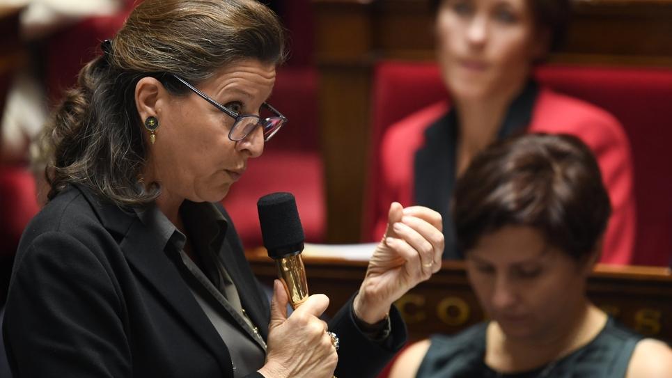 La ministre de la Santé et de la Solidarité Agnès Buzyn, le 17 octobre 2018 à l'Assemblée nationale