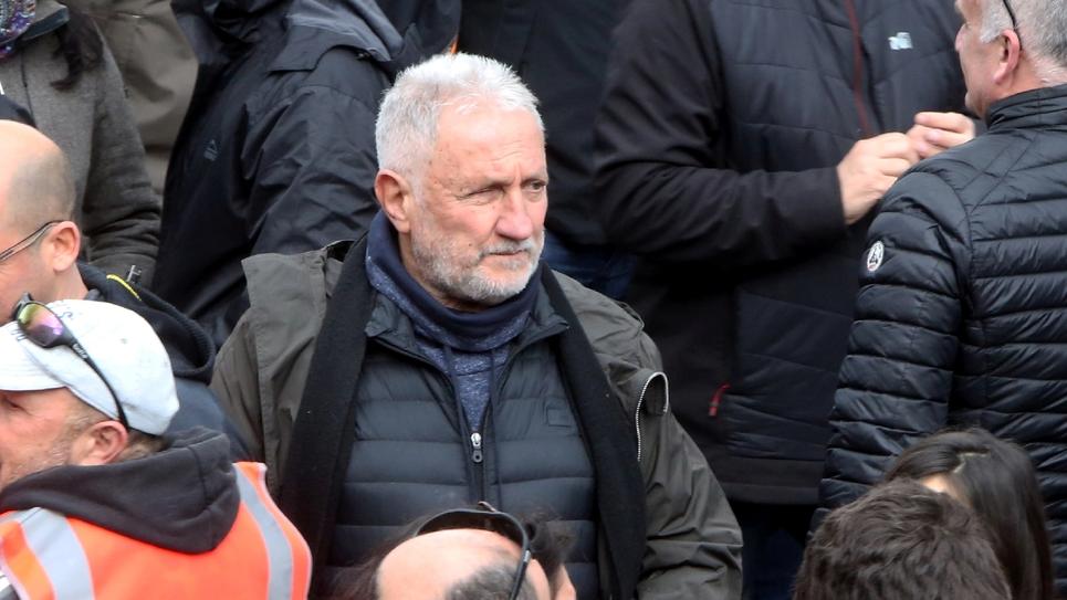 Charles Pieri lors d'une manifestation à Ajaccio, le 3 février 2018