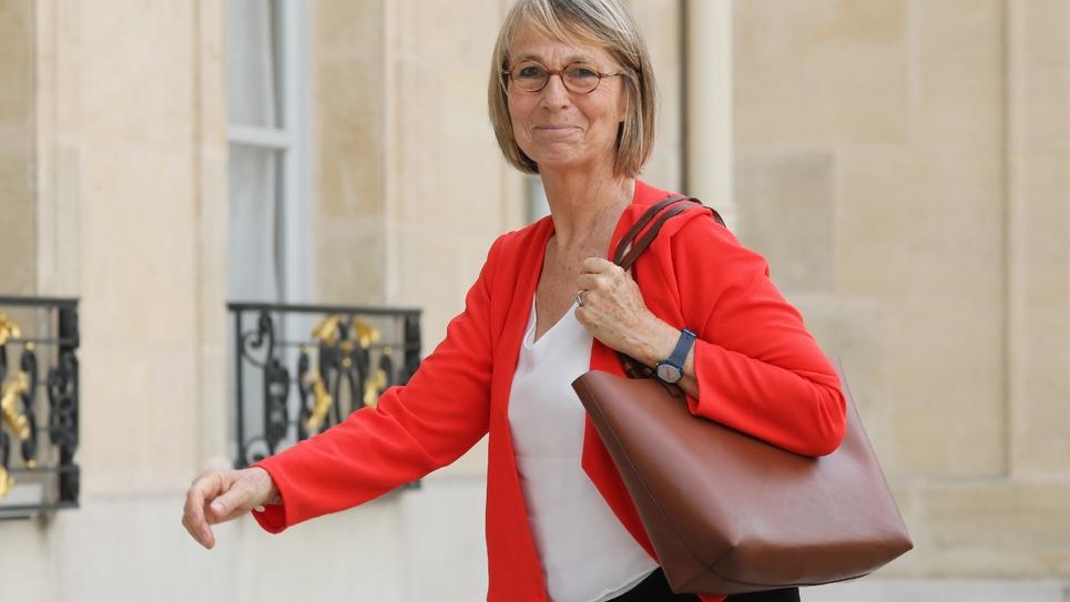 Françoise Nyssen à l'Elysée le 31 mai 2018