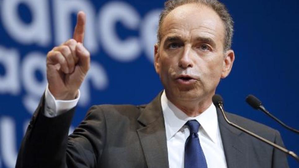 Jean-François Copé, le président de l'UMP, le 21 mai 2014 à Paris