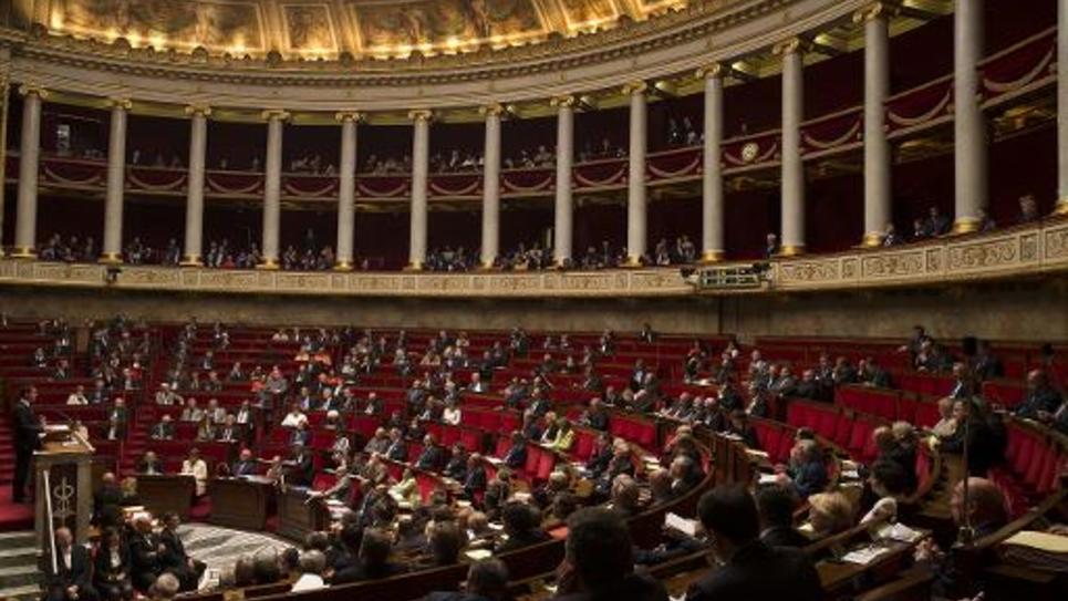 Une séance à l'Assemblée nationale le 24 septembre 2014