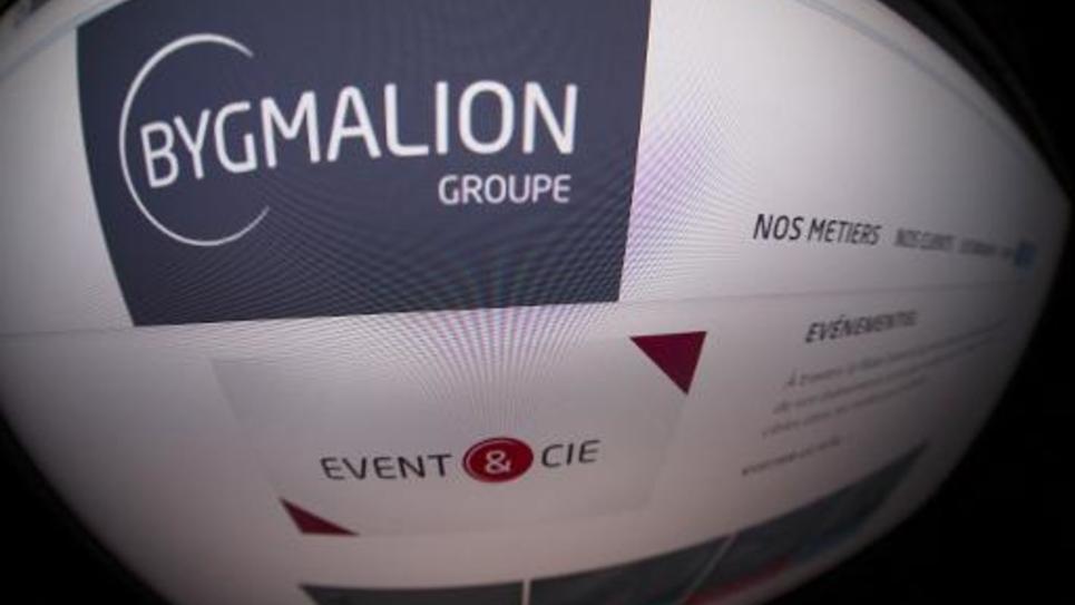 Site internet de la société de communication Bygmalion et de sa filiale Event et Cie