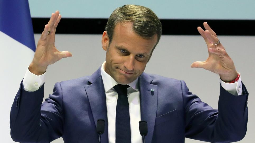 Emmanuel Macron à Copenhague, le 29 août 2018