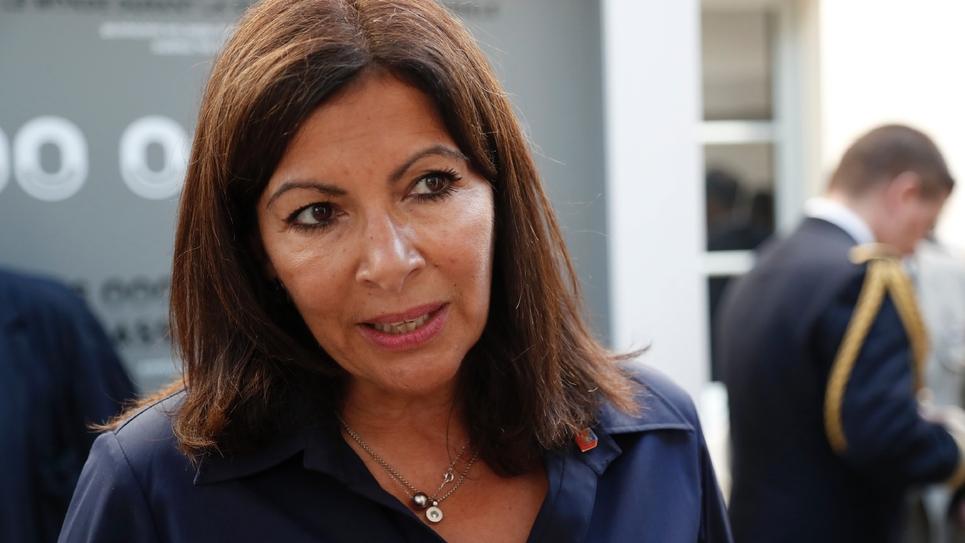 Anne Hidalgo le 25 août 2019 à Paris