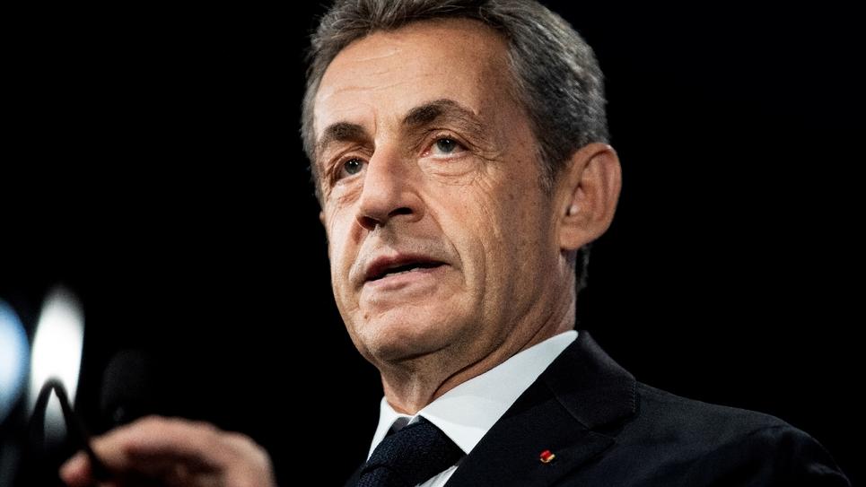 Nicolas Sarkozy en juin 2019 à Paris