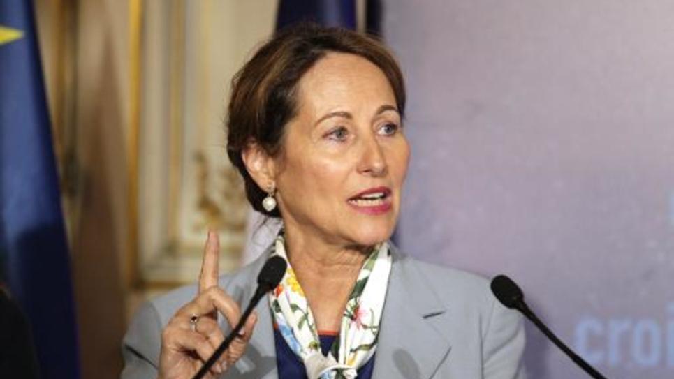 La ministre de l'Ecologie Ségolène Royal le 26 mai 2015 à Paris