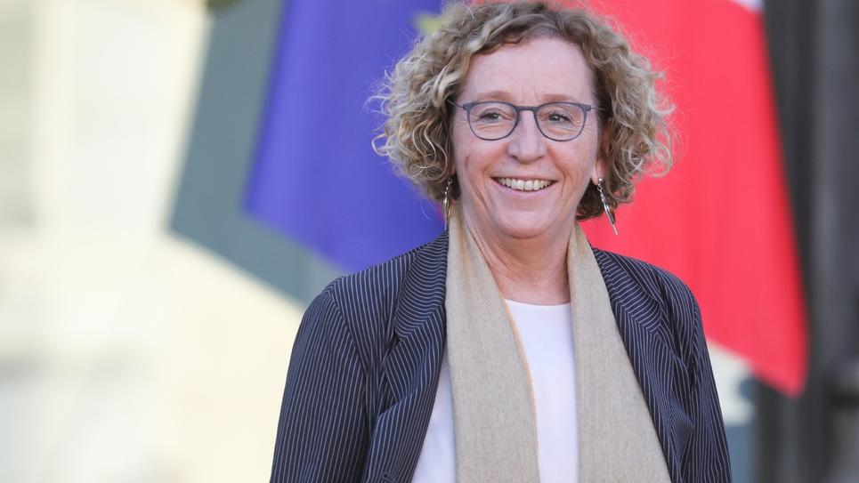 La ministre du Travail Muriel Pénicaud à l'Elysée, le 14 novembre 2018