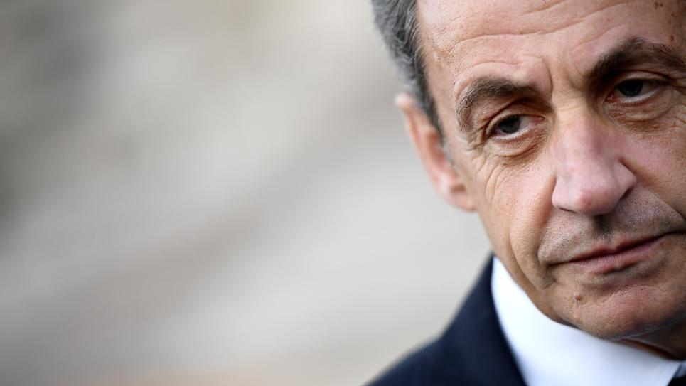 Nicolas Sarkozy le 14 mai 2017 à Paris