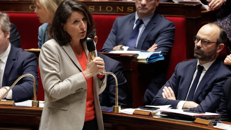 La ministre de la Santé Agnès Buzyn à l'Assemblée nationale à Paris, le 16 janvier 2019